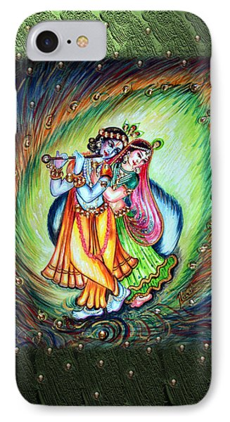 Radha Krishna IPhone Case