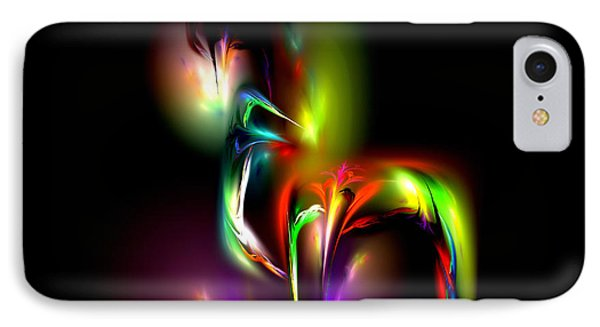 IPhone Case featuring the digital art Radiance by Pete Trenholm