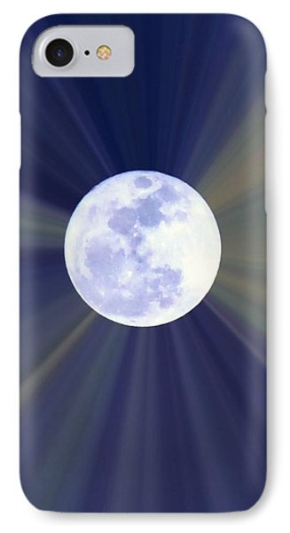 IPhone Case featuring the photograph Radiant Moon by Kelly Nowak