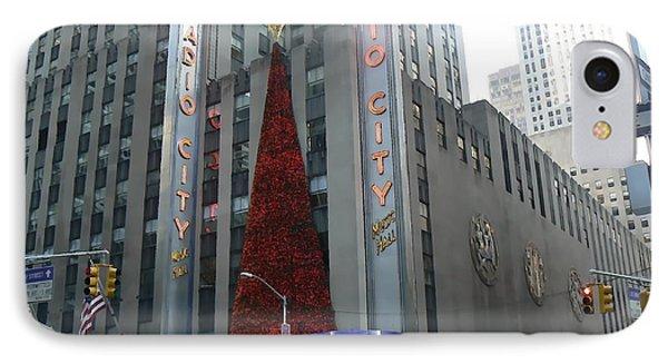 Radio City Christmas IPhone Case