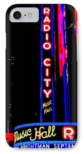 Radio City Music Hall Phone Case by Ed Weidman