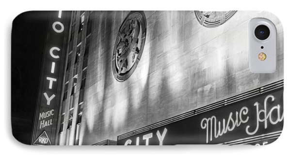 Radio City Music Hall Marquee IPhone Case