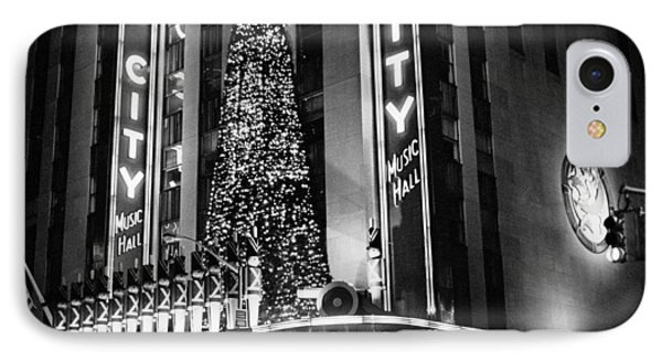 IPhone Case featuring the photograph Radio City New York by Dave Beckerman