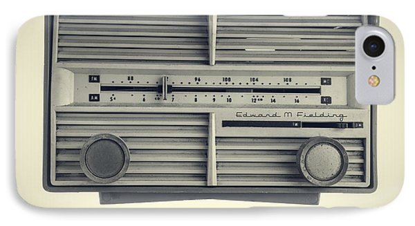 Radio Days IPhone Case by Edward Fielding