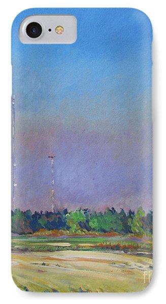 Radio Towers IPhone Case by Vanessa Hadady BFA MA