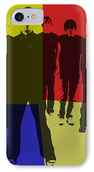 Radiohead Pop Art IPhone Case by Dan Sproul