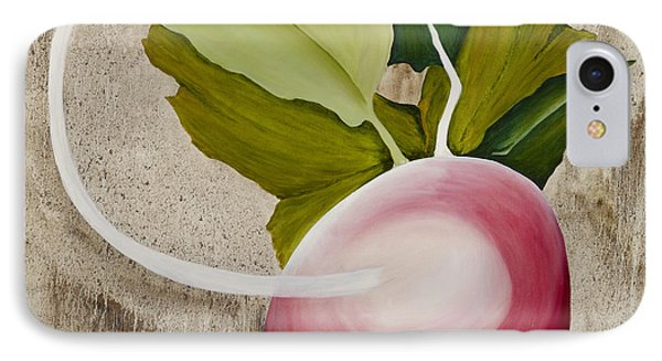 IPhone Case featuring the painting Radish by Stuart Engel