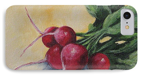 Radishes IPhone Case by Torrie Smiley