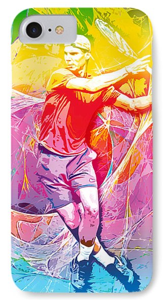 Rafael Nadal 01 IPhone Case by RochVanh