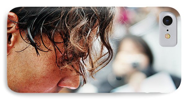 Rafael Nadal From Up Close Phone Case by Nishanth Gopinathan