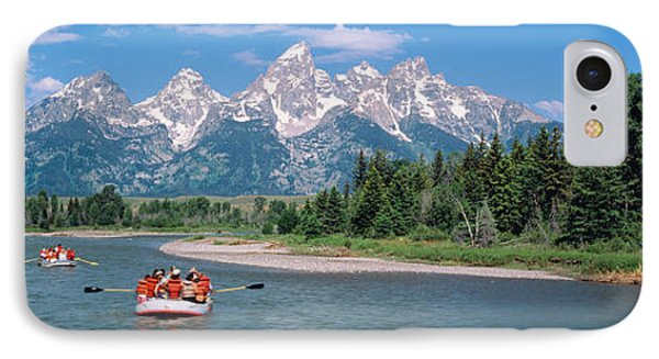 Rafters Grand Teton National Park Wy Usa IPhone Case by Panoramic Images