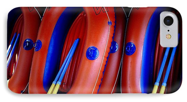Rafts Waiting IPhone Case