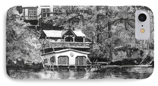 Ragan's Lake Rabun Home IPhone Case by Gretchen Allen