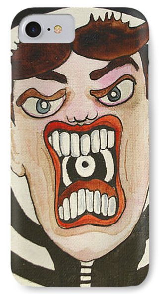 Rage Tillie Phone Case by Patricia Arroyo