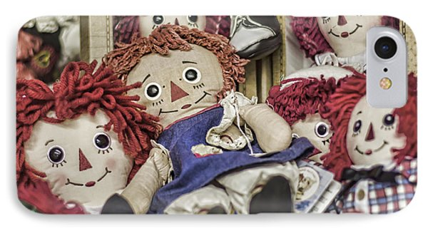 Raggedy Ann And Andy IPhone Case by Heather Applegate