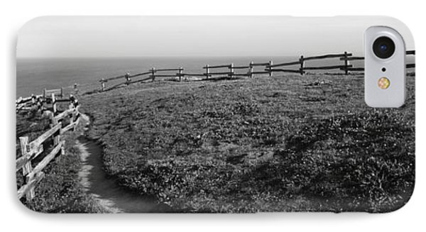 Rail Fence At The Coast, Point Reyes IPhone Case by Panoramic Images