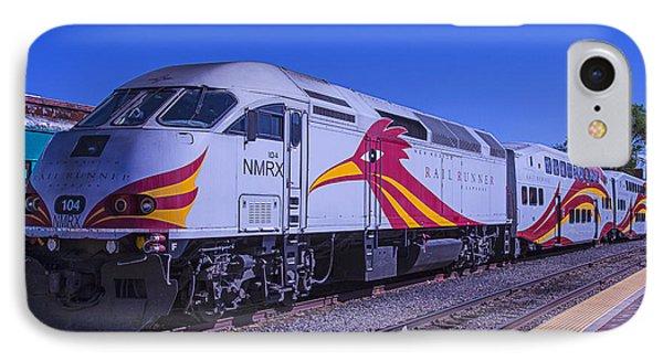 Roadrunner iPhone 7 Case - Rail Runner Santa Fe by Garry Gay