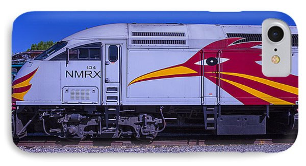 Roadrunner iPhone 7 Case - Rail Runner Train by Garry Gay