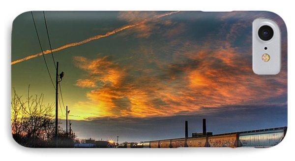 Railroad At Dawn Phone Case by Tim Buisman