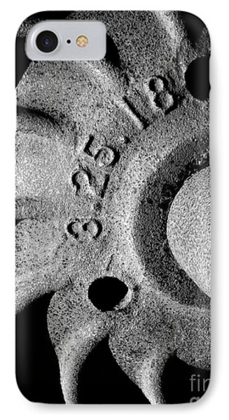 Railroad Axle And Wheel IPhone Case by Robert Riordan