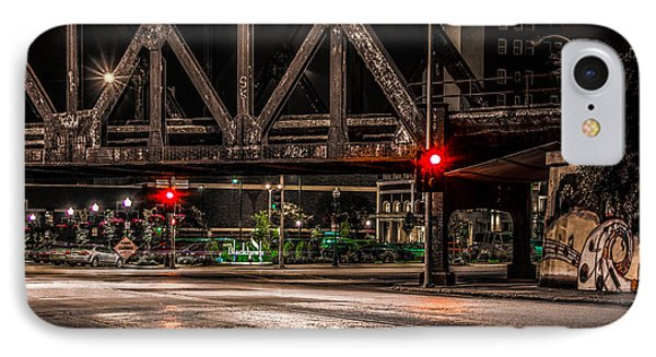 IPhone Case featuring the photograph Railroad Bridge by Ray Congrove