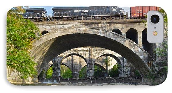 Railroad Bridges IPhone Case by Frozen in Time Fine Art Photography