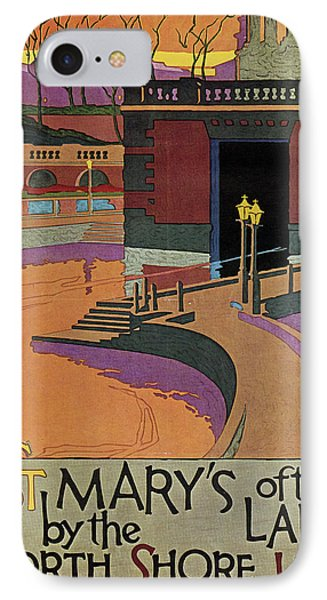 Railroad Poster, 1925 IPhone Case by Granger