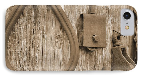 Railroad Tools  IPhone Case by Kirt Tisdale