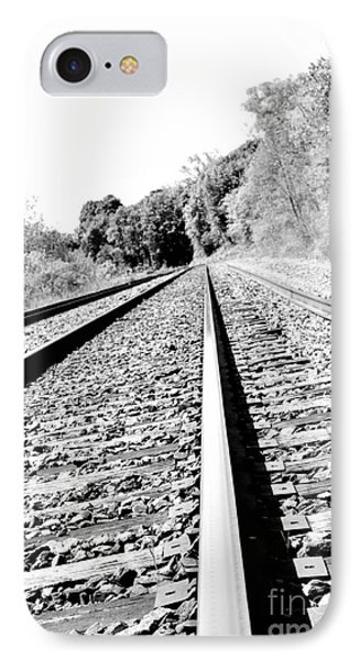 IPhone Case featuring the photograph Railroad Track by Joe  Ng