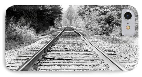 Railroad Tracks IPhone Case by Athena Mckinzie