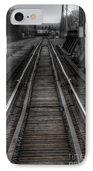 IPhone Case featuring the photograph Rails by Jim Lepard