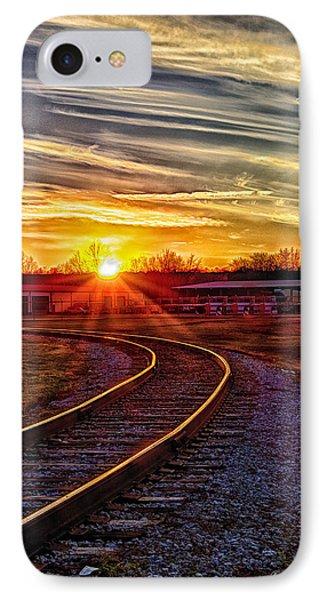 Rails Phone Case by Skip Tribby