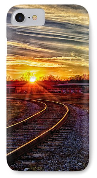 Rails IPhone Case by Skip Tribby