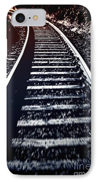 IPhone Case featuring the photograph Railtrack by Craig B