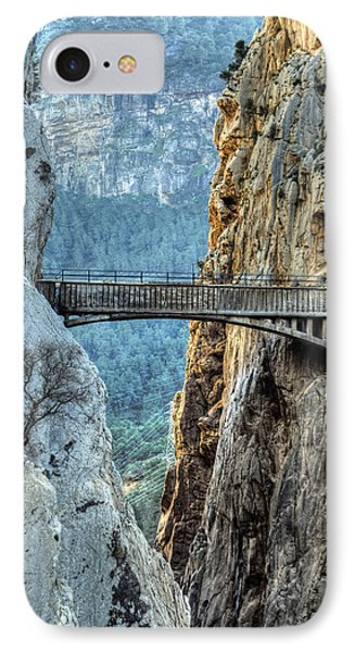 IPhone Case featuring the photograph Railway Bridge In El Chorro by Julis Simo