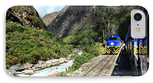Railway To Machu Picchu IPhone Case