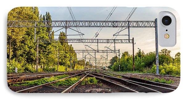 Railway To Nowhere IPhone Case
