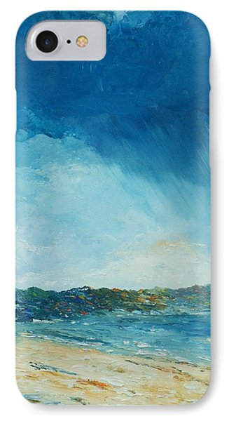 Rain A Comin IPhone Case by Conor Murphy