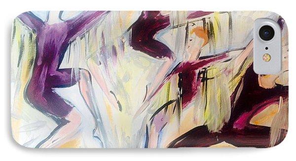 Rain Dance IPhone Case by Judith Desrosiers