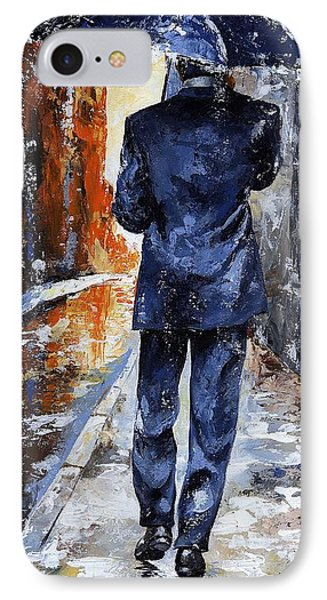 Rain Day #20 IPhone Case by Emerico Imre Toth