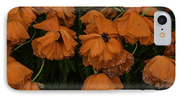 Rain Flowers IPhone Case