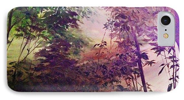 Rain Forest Rhapsody #1 IPhone Case