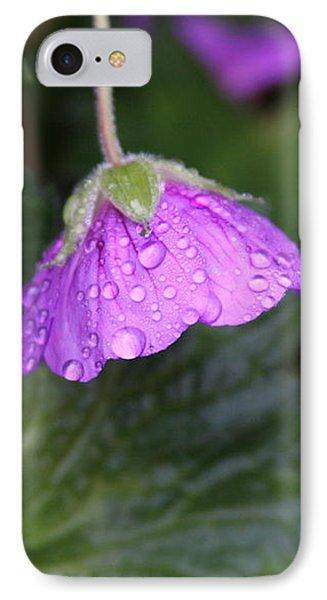 Rain Kissed Phone Case by Lynn-Marie Gildersleeve