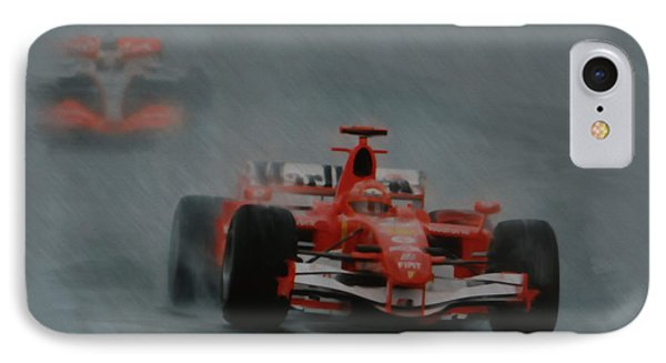 Rain Master IPhone Case by Roger Lighterness