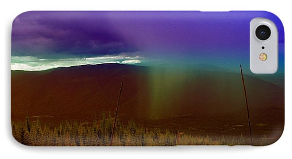 Rain North Of Bonners Ferry Phone Case by Jeff Swan