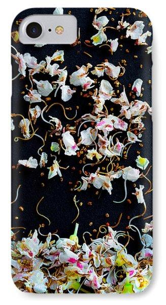 Rain Of Petals Phone Case by Edgar Laureano