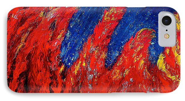 Rain On Fire Phone Case by Ania M Milo
