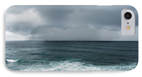 Rain Over The Ocean IPhone Case by Parker Cunningham