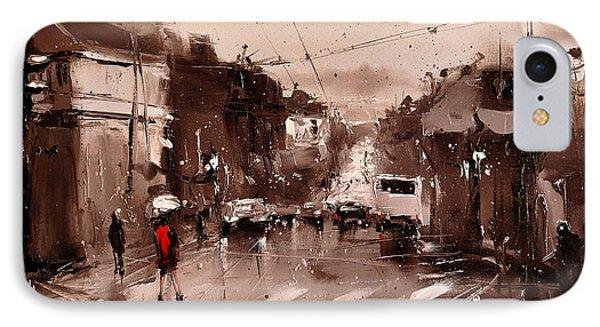 Rain Phone Case by Timorinelt Tryptykieu