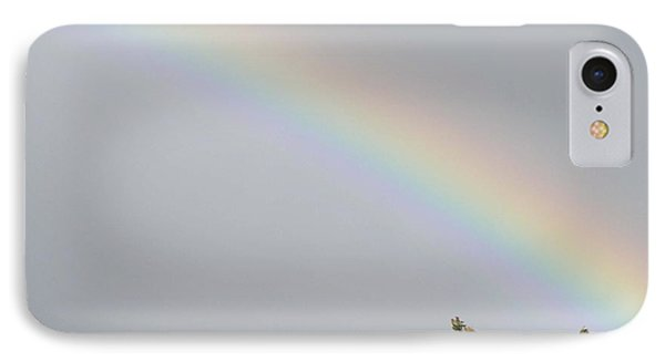 IPhone Case featuring the photograph Rainbow After The Rain by Barbara Griffin